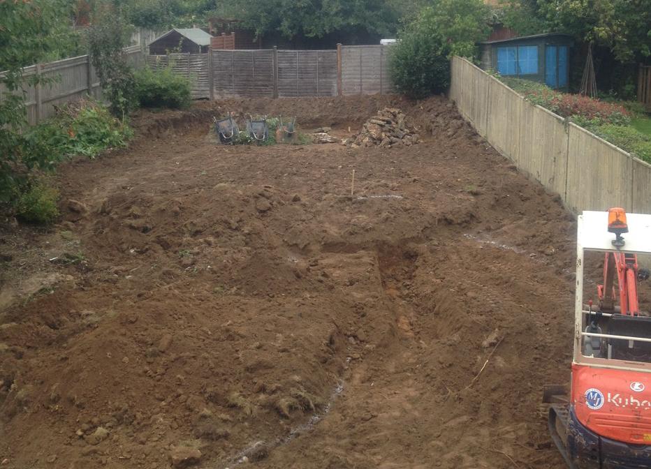 Before-Complete Garden Redesign